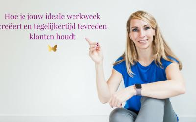 Hoe je jouw ideale werkweek creëert en tegelijkertijd tevreden klanten houdt als virtueel assistent
